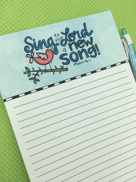 New Song Notepad