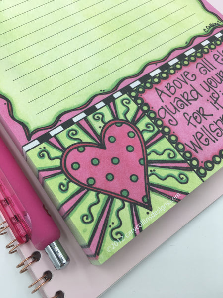 Guard your Heart Notepad