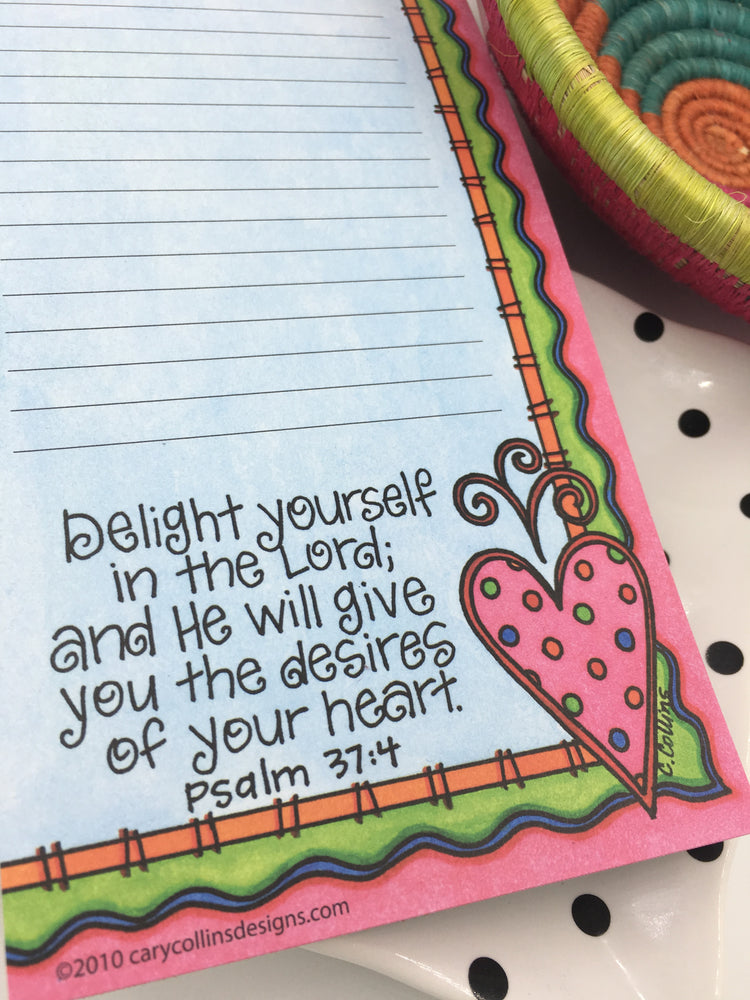 Delight Yourself Notepad
