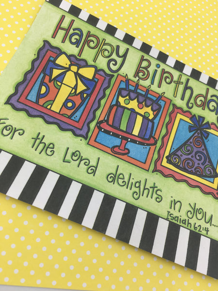 Happy Birthday Note Cards