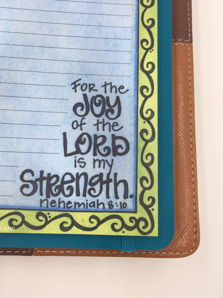 Joy of the Lord Notepad