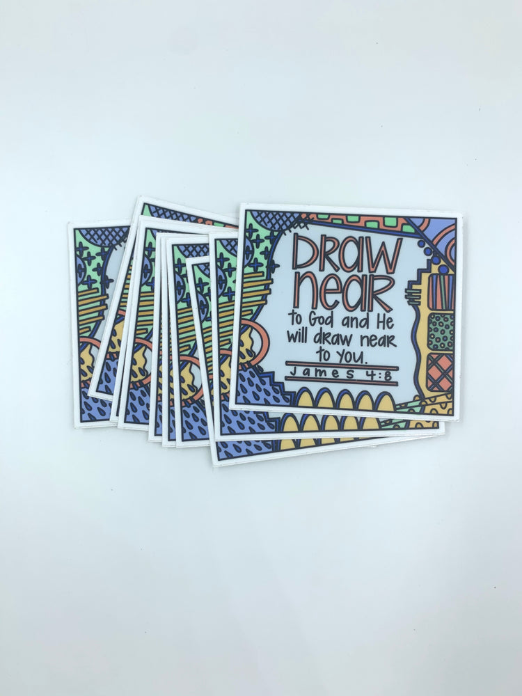 Draw Near Sticker