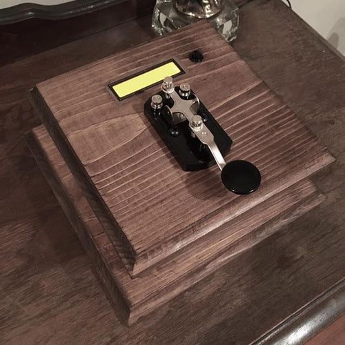 morse code escape room prop