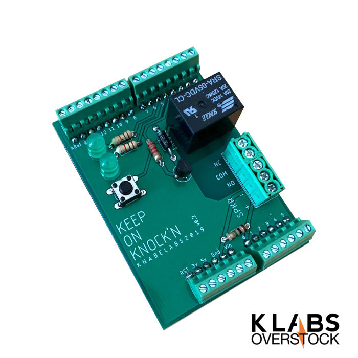 Knock'n Arduino Shield