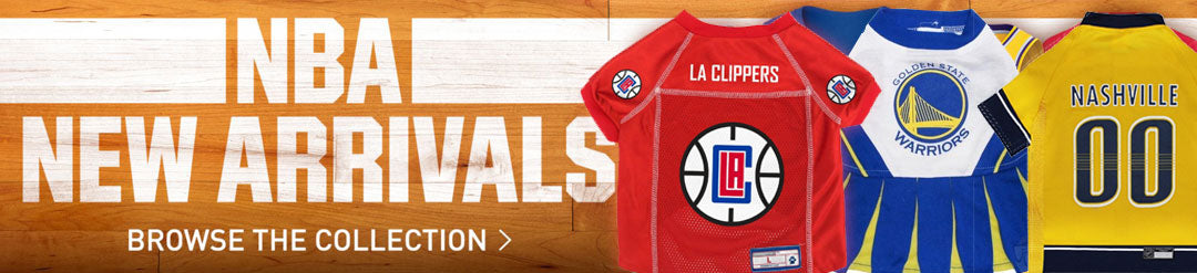 NBA New Arrivals - Browse Major League Pets Collection - Click Here