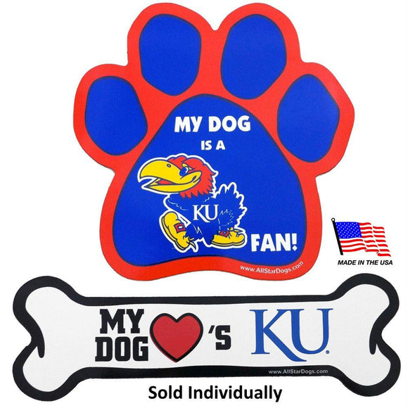 Kansas Jayhawks Car Magnets