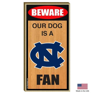 North Carolina Tarheels Wood Sign