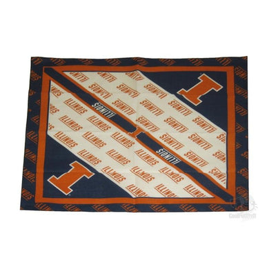 Illinois Fighting Illini Square Bandana
