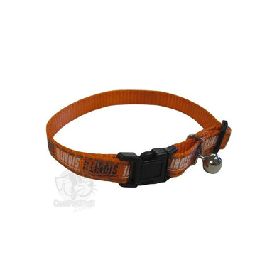 Illinois Fighting Illini Cat Safety Collar