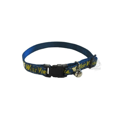 West Virginia Mountaineers Cat Safety Collar