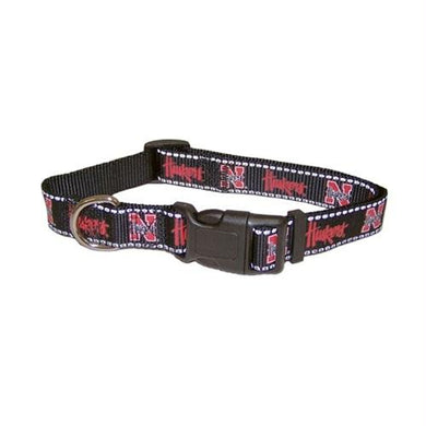 Nebraska Huskers Pet Reflective Nylon Collar