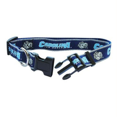 North Carolina Tarheels Pet Reflective Nylon Collar