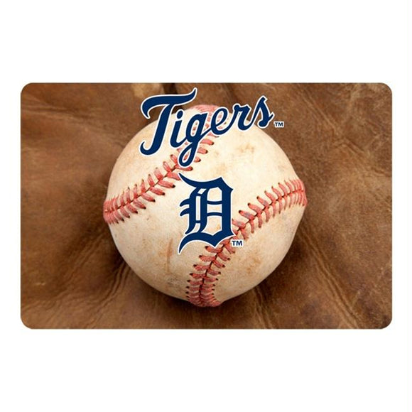 Detroit Tigers Pet Bowl Mat