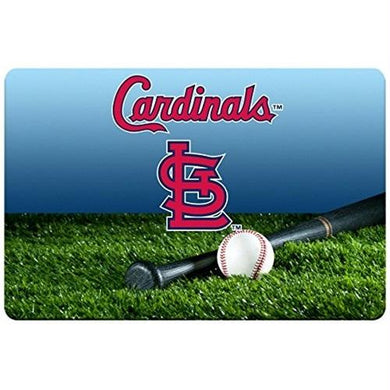 St. Louis Cardinals Field Pet Bowl Mat