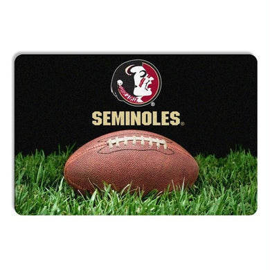 Florida State Seminoles Classic Football Pet Bowl Mat