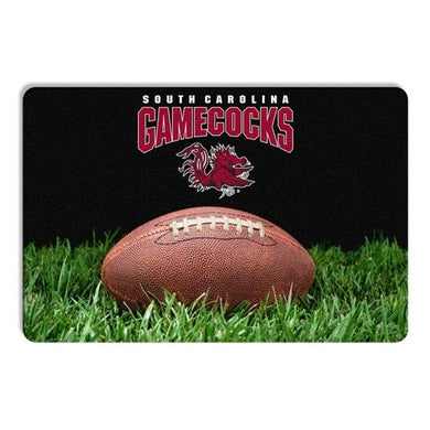 South Carolina Gamecocks Classic Football Pet Bowl Mat