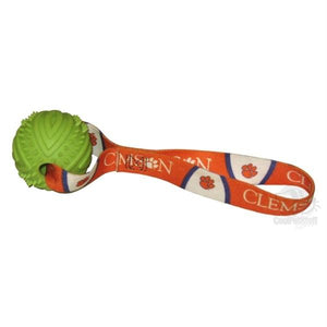 Clemson Tigers Rubber Ball Toss Toy