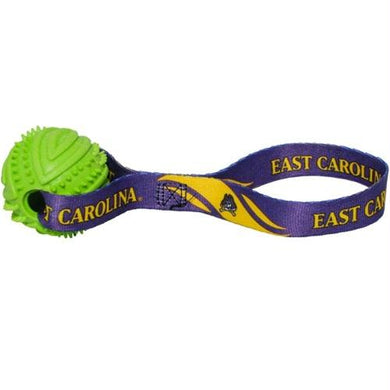 East Carolina Pirates Rubber Ball Toss Toy