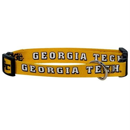 Georgia Tech Pet Collar