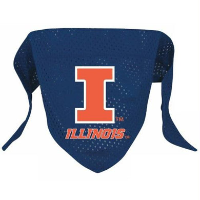 Illinois Fighting Illini Pet Mesh Bandana