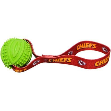 Kansas City Chiefs Rubber Ball Toss Toy