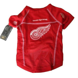 Detroit Red Wings Dog Jersey