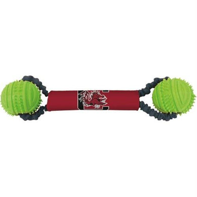 South Carolina Double Bungee Tug-N-Toss Toy