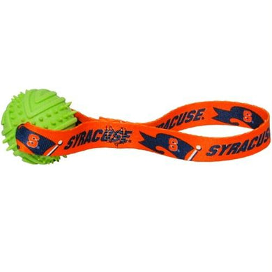 Syracuse Orange Rubber Ball Toss Toy