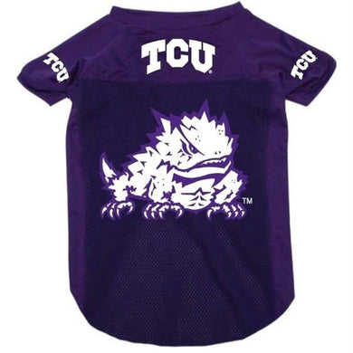 TCU Horned Frogs Pet Mesh Jersey