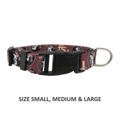 Florida State Seminoles Pet Nylon Collar - Large