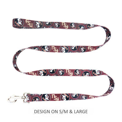 Florida State Seminoles Pet Nylon Leash - S/M