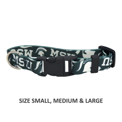 Michigan State Spartans Pet Nylon Collar - Medium