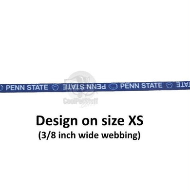 Penn State Nittany Lions Pet Nylon Collar - XS