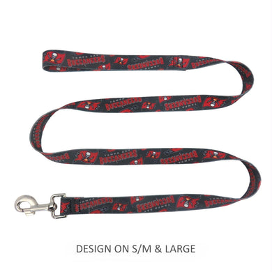 Tampa Bay Buccaneers Pet Nylon Leash - XS