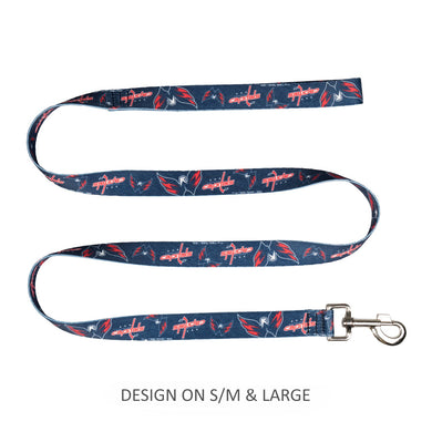 Washington Capitals Pet Nylon Leash - Large