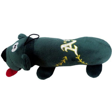 Oakland A's Plush Tube Pet Toy