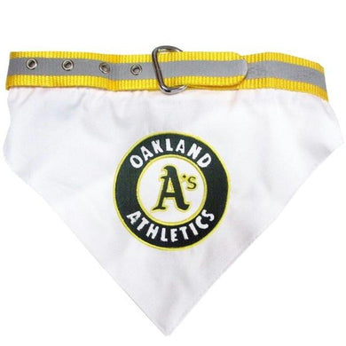 Oakland A's Pet Collar Bandana