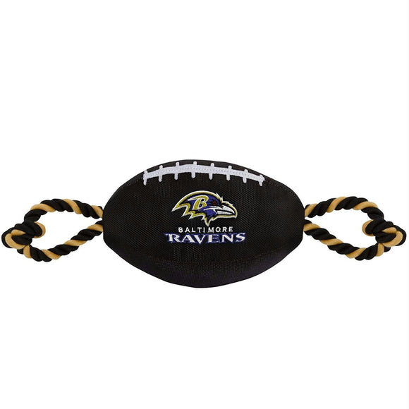 Baltimore Ravens Pet Nylon Football