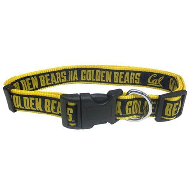 Cal Berkeley Golden Bears Pet Collar
