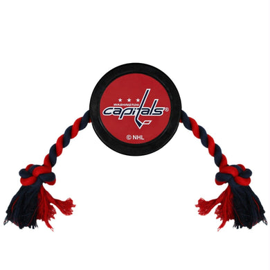 Washington Capitals Pet Hockey Puck Rope Toy