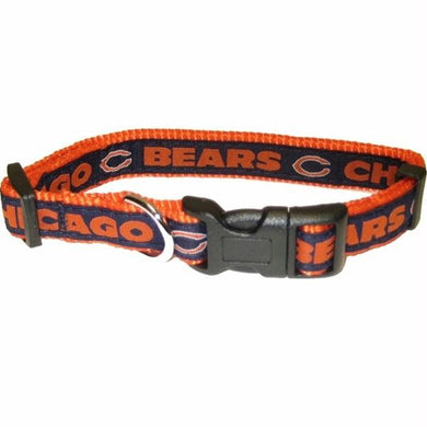 Chicago Bears Pet Collar by Pets First - XL