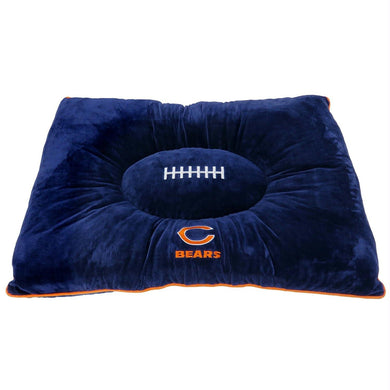 Chicago Bears Pet Pillow Bed