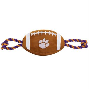 Clemson Tigers Pet Nylon Football