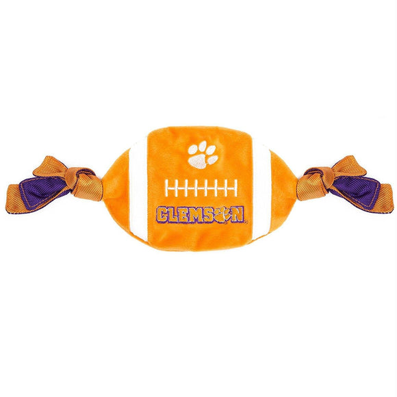 Clemson Tigers Flattie Crinkle Football
