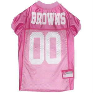 Cleveland Browns Pink Pet Jersey