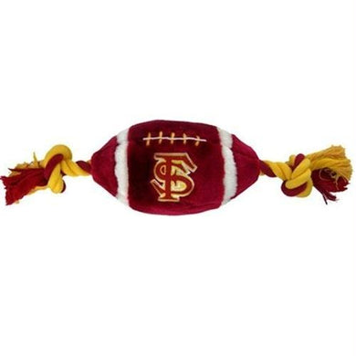 Florida State Seminoles Plush Football Dog Toy