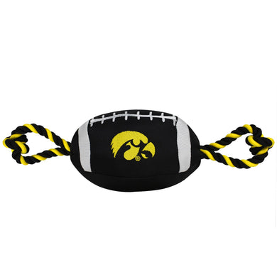 Iowa Hawkeyes Pet Nylon Football