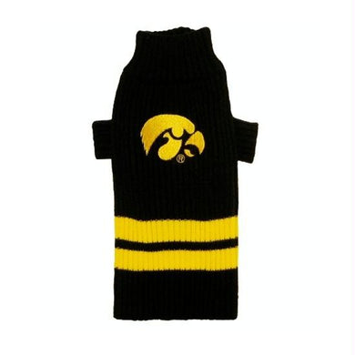 Iowa Hawkeyes Dog Sweater