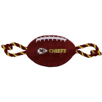 Kansas City Chiefs Pet Nylon Football
