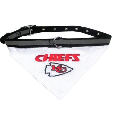 Kansas City Chiefs Pet Collar Bandana